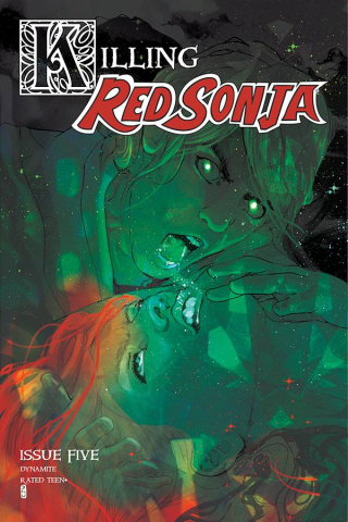 Killing Red Sonja #5 (20 Copy Ward Color Cover)