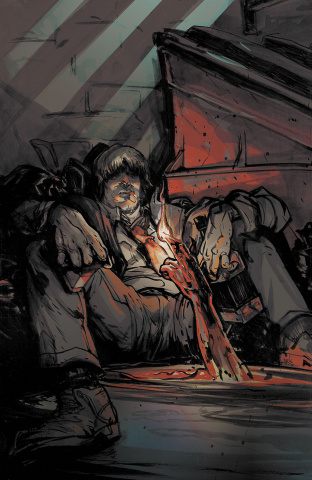 Lucas Stand #1 (SDCC Cover)