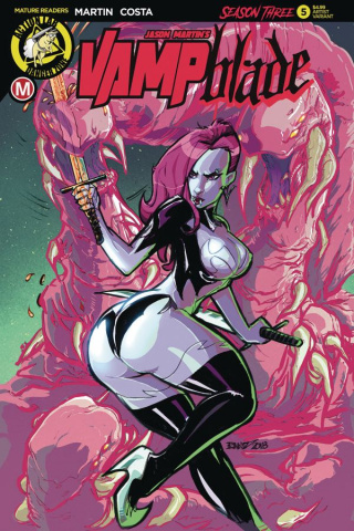 Vampblade, Season Three #5 (Kintz Cover)