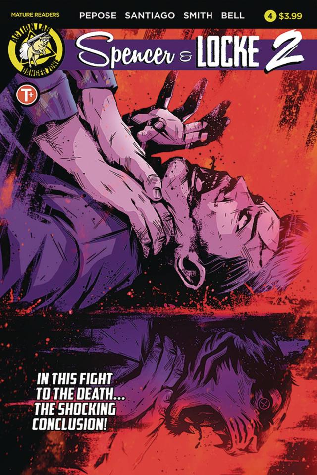 Spencer & Locke 2 #4 (House Cover)