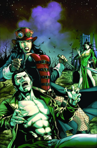 Grimm Fairy Tales Unleashed: Vampires - Eternal #1 (Spay Cover)