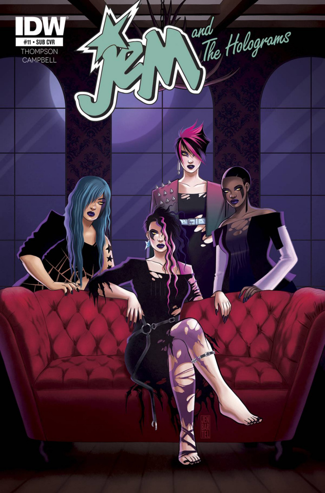 Jem and The Holograms #11 (Subscription Cover)