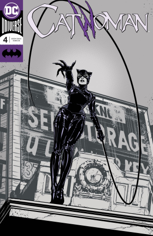Catwoman #4 (Foil Cover)