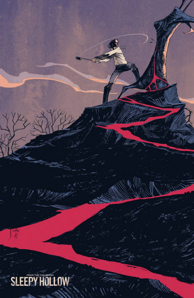 Sleepy Hollow #2 (15 Copy Coelho Cover)