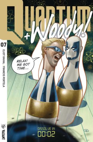 Quantum & Woody #7 (Kalvachev Cover)