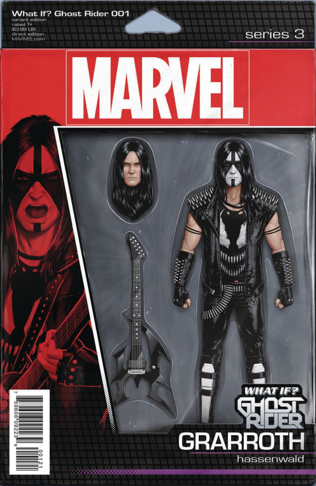 What If? Ghost Rider #1 (Christopher Action Figure Cover)