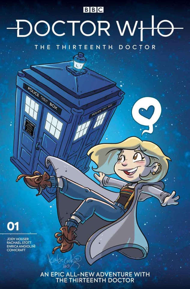 Doctor Who: The Thirteenth Doctor #1 (Cook Cover)