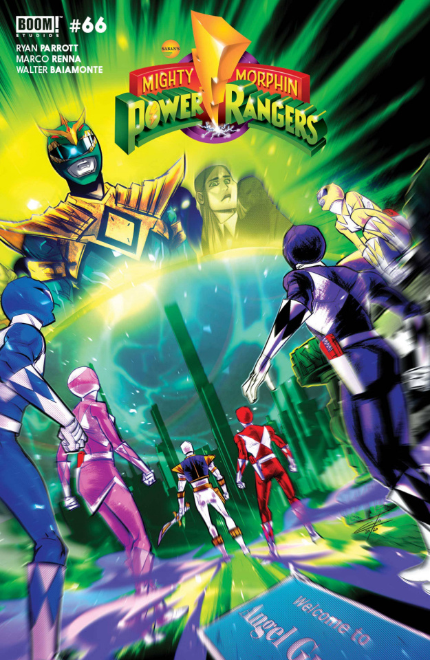 Mighty Morphin' #6 (Legacy Carlini Cover)