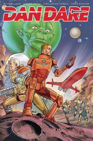 Dan Dare #4 (Fouche Cover)