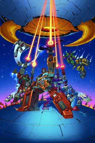 The Transformers: Timelines #10: Pirates vs. Knights