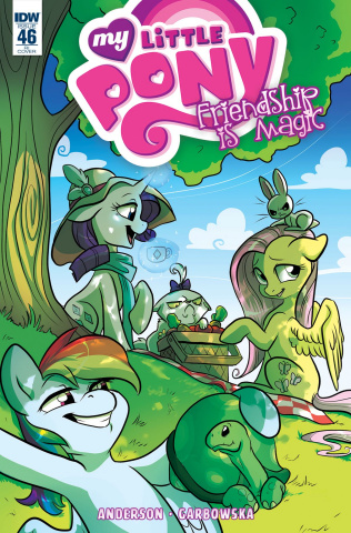My Little Pony: Friendship Is Magic #46 (10 Copy Cover)