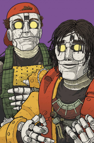 Bill & Ted's Most Triumphant Return #4 (20 Copy Vill Cover)