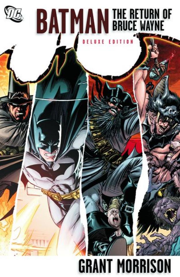 Batman: The Return of Bruce Wayne Deluxe Edition