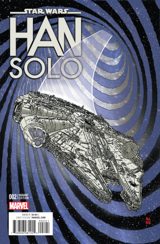 Star Wars: Han Solo #2 (Millenium Falcon Cover)