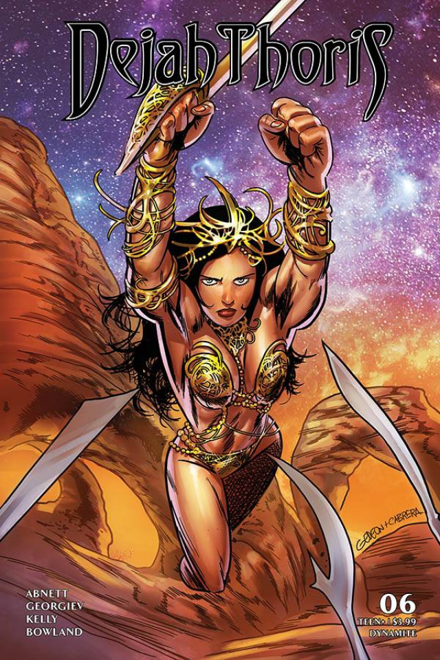Dejah Thoris #6 (Gedeon Homage Cover)