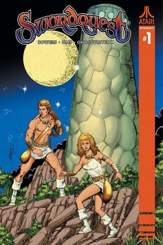 Swordquest #1 (Perez Cover)