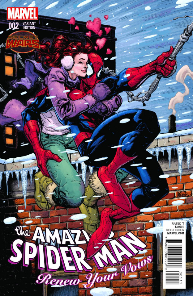 The Amazing Spider-Man: Renew Your Vows #2 (Stegman Cover)