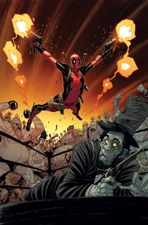 Deadpool #4 (Moore Cover)