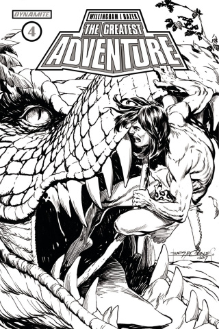 The Greatest Adventure #4 (20 Copy Morales B&W Cover)