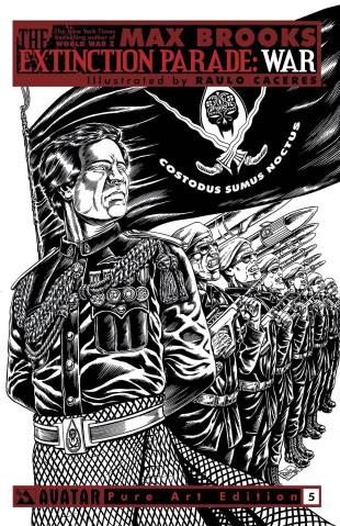 The Extinction Parade: War #5 (Pure Art Cover)