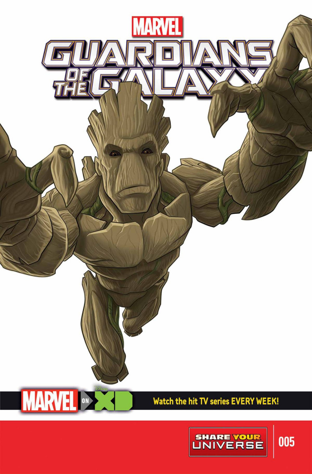 Marvel Universe: Guardians of the Galaxy #5