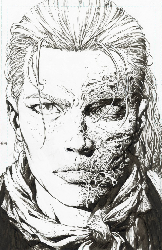 The Walking Dead Deluxe #5 (Finch & McCaig 25 Copy Raw Cover)
