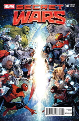 Secret Wars #1 (Cheung Cover)