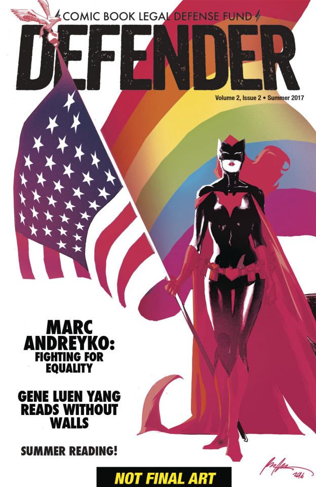 Comic Book Legal Defense Fund: Defender #2