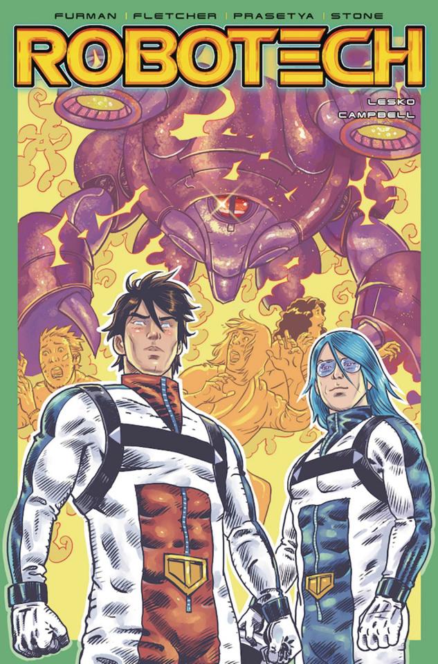 Robotech #21 (Brokenshire Cover)