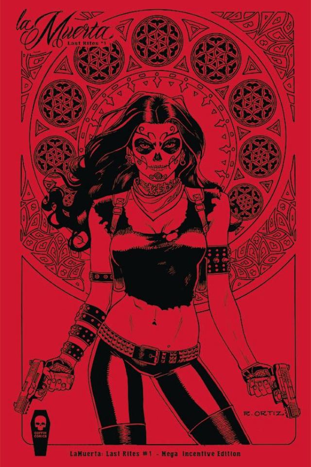 La Muerta: Last Rites #1 (Ortiz 10 Copy Cover)