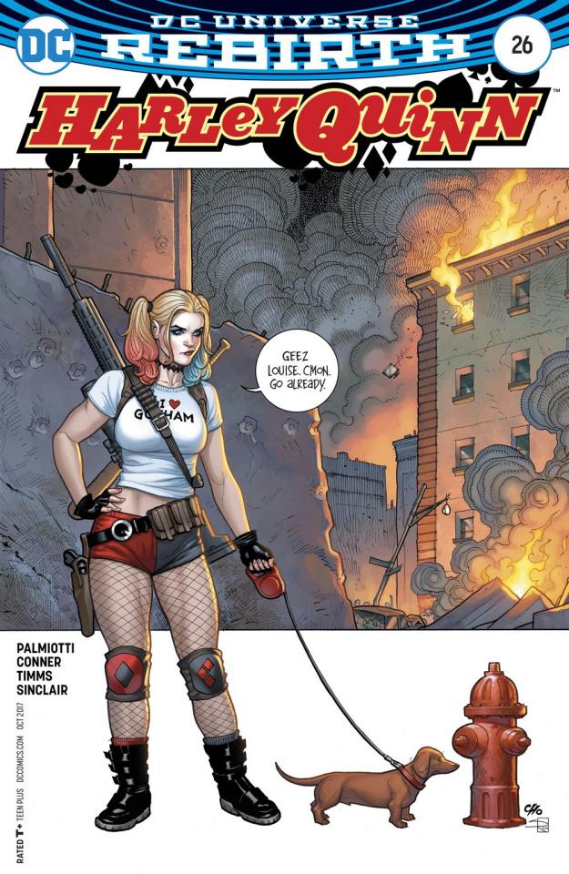 Harley Quinn #26 (Variant Cover)