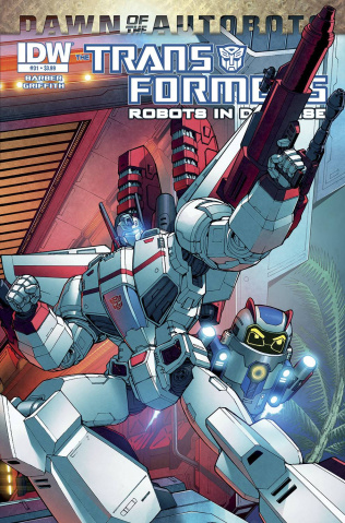 The Transformers: Robots in Disguise #31: Dawn of the Autobots