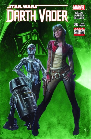 Darth Vader #3 (Granov 3rd Printing)