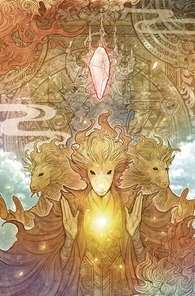 The Power of the Dark Crystal #10 (Subscription Cover)