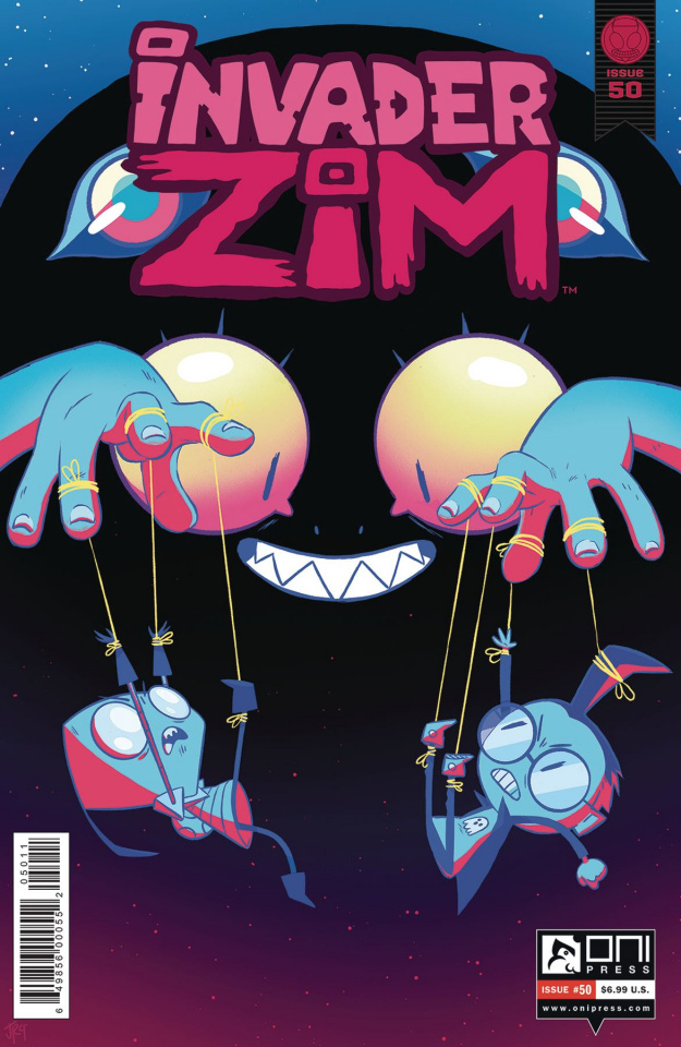 Invader Zim #50 (Goldberg Cover)