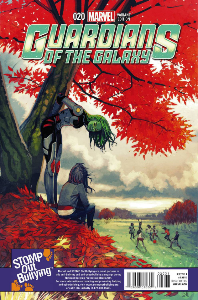Guardians of the Galaxy #20 (Stomp Out Bullying Cover)