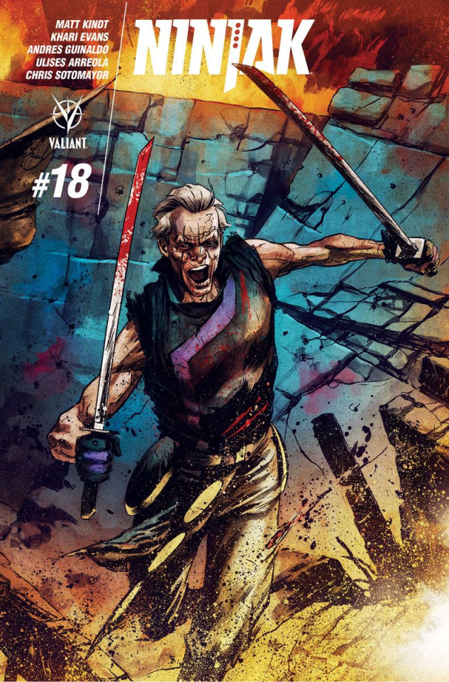 Ninjak #18 (20 Copy Interlock Gorham Cover)