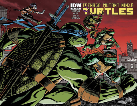 Teenage Mutant Ninja Turtles #41 (10 Copy Cover)