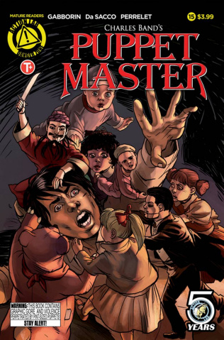 Puppet Master #15 (Da Sacco Cover)