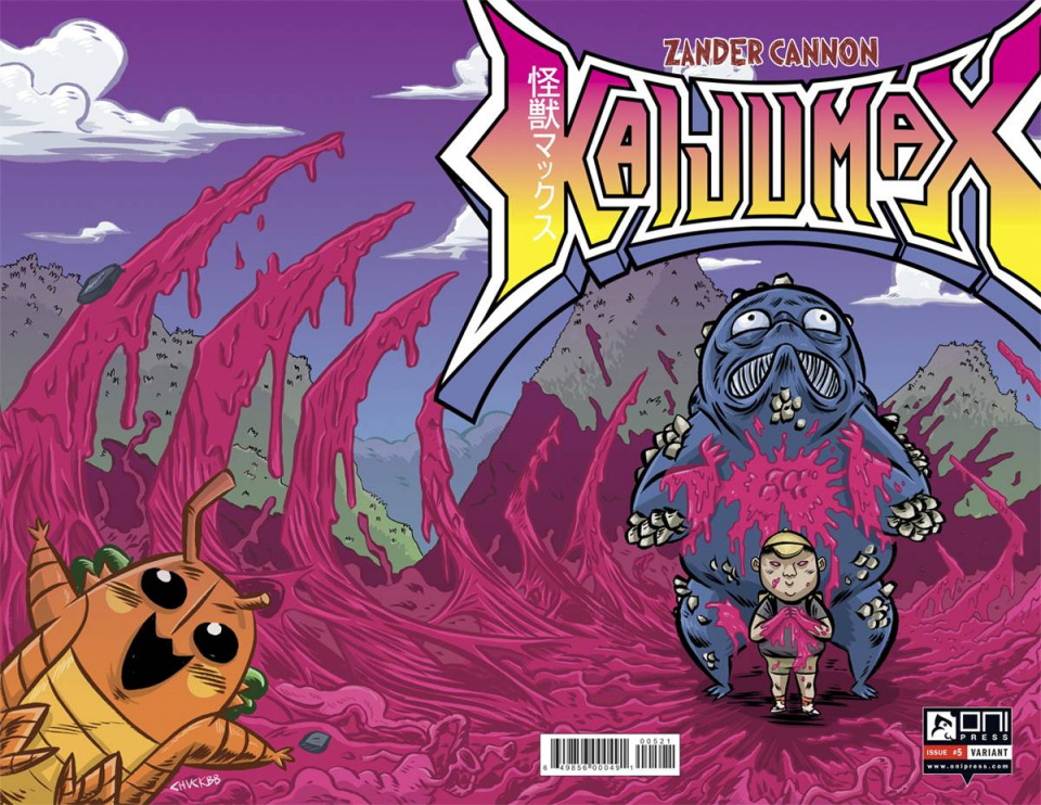 Kaijumax #5 (Chuck BB Cover)