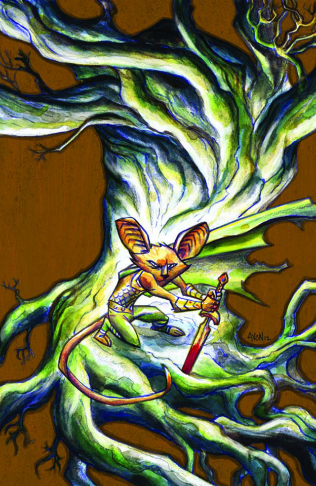 Mice Templar: The Legend #2 (Santos Cover)
