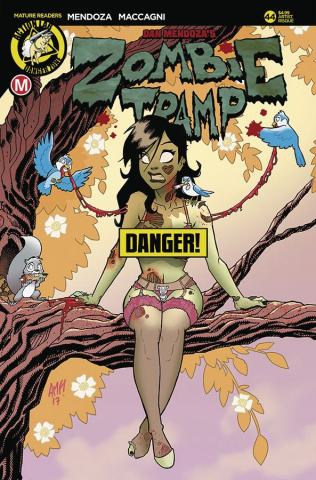 Zombie Tramp #44 (Fleecs Risque Cover)