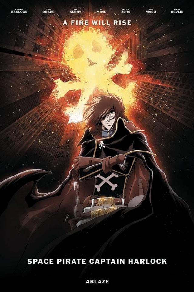 Space Pirate: Captain Harlock #2 (Jerome Alquie Cover)