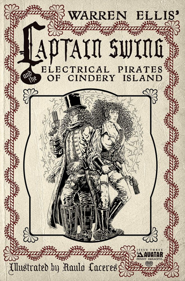 Captain Swing #3 (Penny Dreadful Cover)