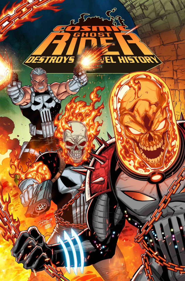 Cosmic Ghost Rider Destroys Marvel History #1 (Lim Cover)