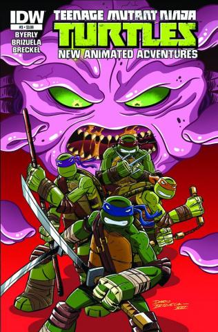 Teenage Mutant Ninja Turtles: New Animated Adventures #3