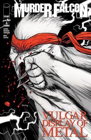 Murder Falcon #4 (Heavy Metal Cover)