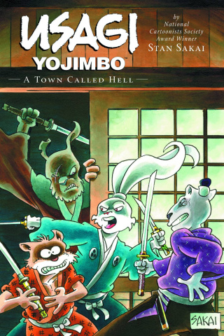 Usagi Yojimbo Vol. 27: A Town Called Hell