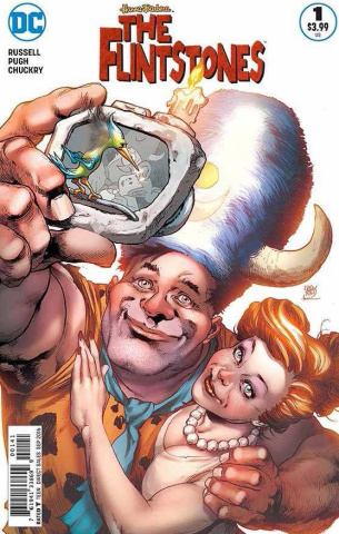 The Flintstones #1 (Fred & Wilma Cover)