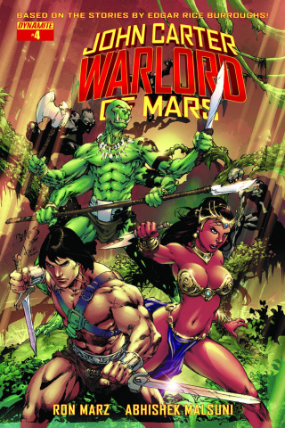 John Carter: Warlord of Mars #4 (Benes Cover)